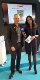 Thomas Issler und Natascha Zillner bei der IHM