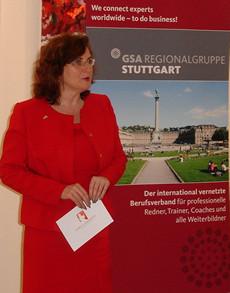 Gaby S. Graupner beim GSA Regionaltreffen Stuttgart
