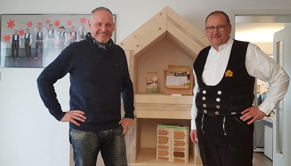 Modernisierung der Holzbau Oettinger Website