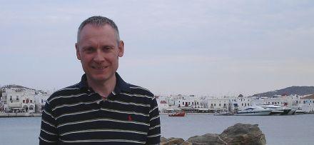 Thomas Issler in Mykonos