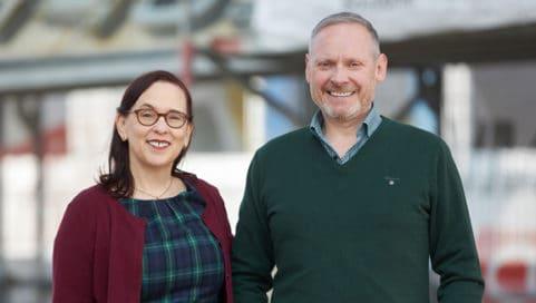 Margit Wellenreuther und Thomas Issler