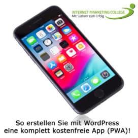 Mit WordPress kostenfreie App erstellen