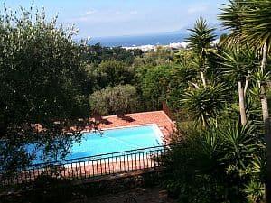 Blick von der Villa von Helmut Ament nach Cannes