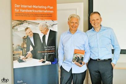 So fing es 2014 mit Internet-Marketing im Handwerk an: Volker Geyer und Thomas Issler