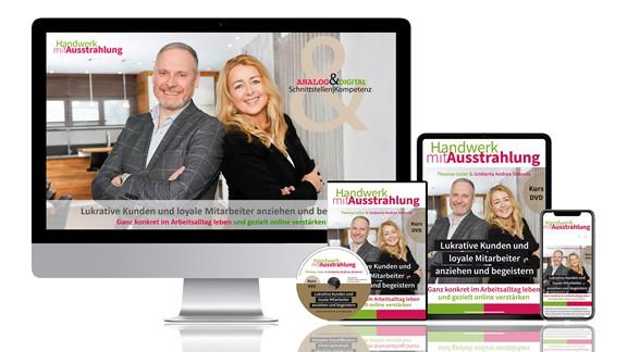 """Video-Kurs """"Lukrative Kunden und loyale Mitarbeiter anziehen und begeistern"""" mit Umberta Andrea Simonis und Thomas Issler ist veröffentlicht"""
