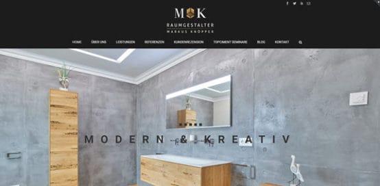 Maler Knöpper Relaunch