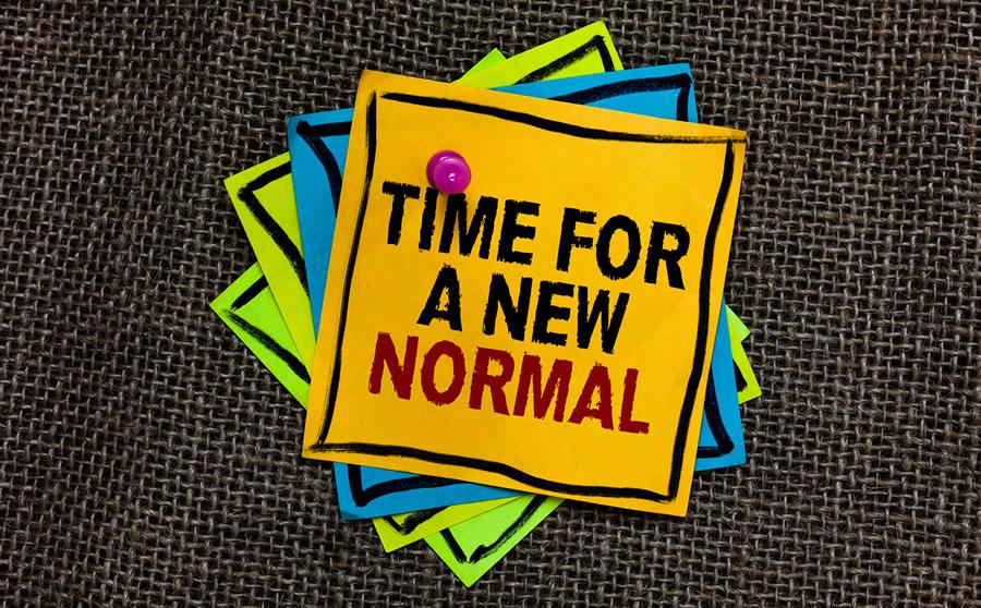 Die neue Normalität
