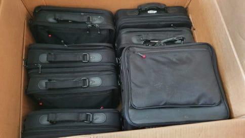 Die Notebooks vom Münchner Büro - ein Recycling-Fall