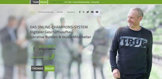Team-Issler Website
