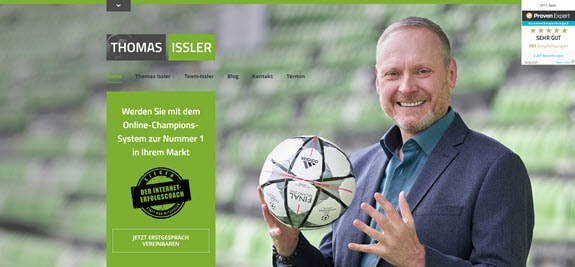 Thomas Issler neue Website