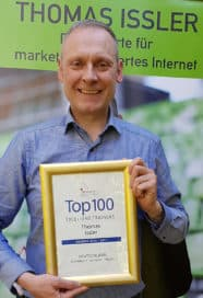 Thomas Issler ist Top 100 Trainer bei Speakers Excellence