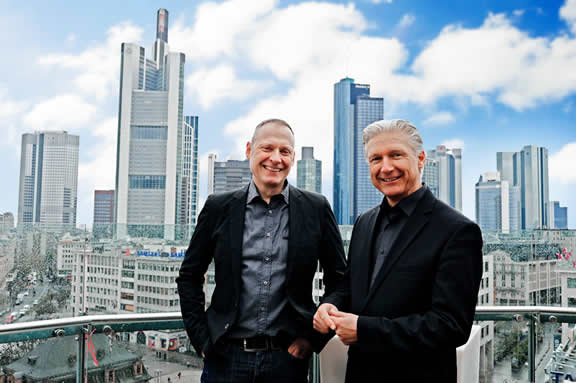 Thomas Issler und Volker Geyer